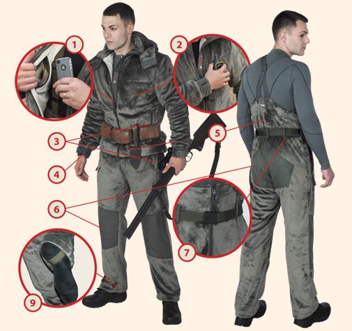 Лучшие костюмы для охоты в России с доставкой